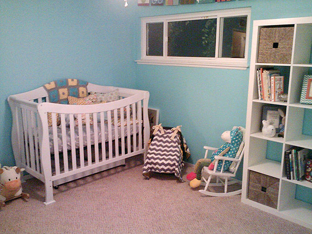 Sarah Dykema baby nursery