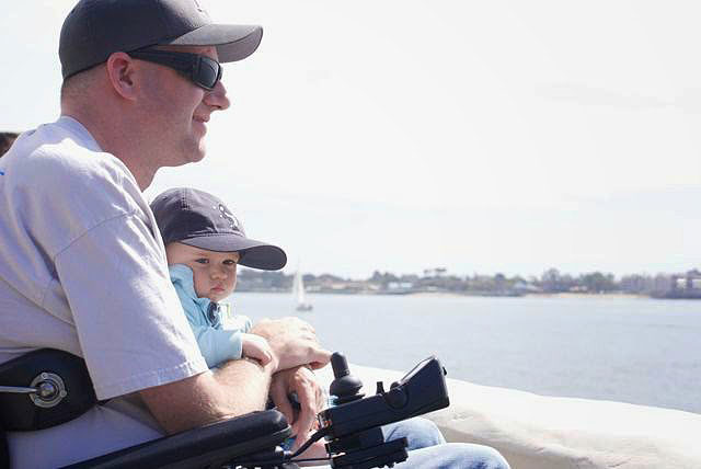 Sarah Dykema - Jeff and Arie looking out at San Diego bay