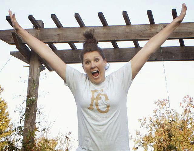 Sarah Dykema jumping